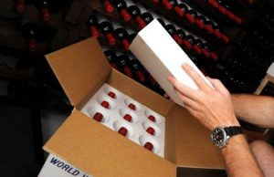 Moving Wine Overseas with protective packaging